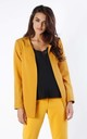Yellow Jacket with Sleeve Detail by By Ooh La La