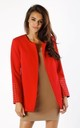 Red Jacket with Sleeve Detail by By Ooh La La