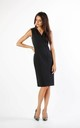 Sleeveless Fitted Dress in Black by By Ooh La La