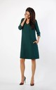 A-Line Dress with Pockets in Green by By Ooh La La