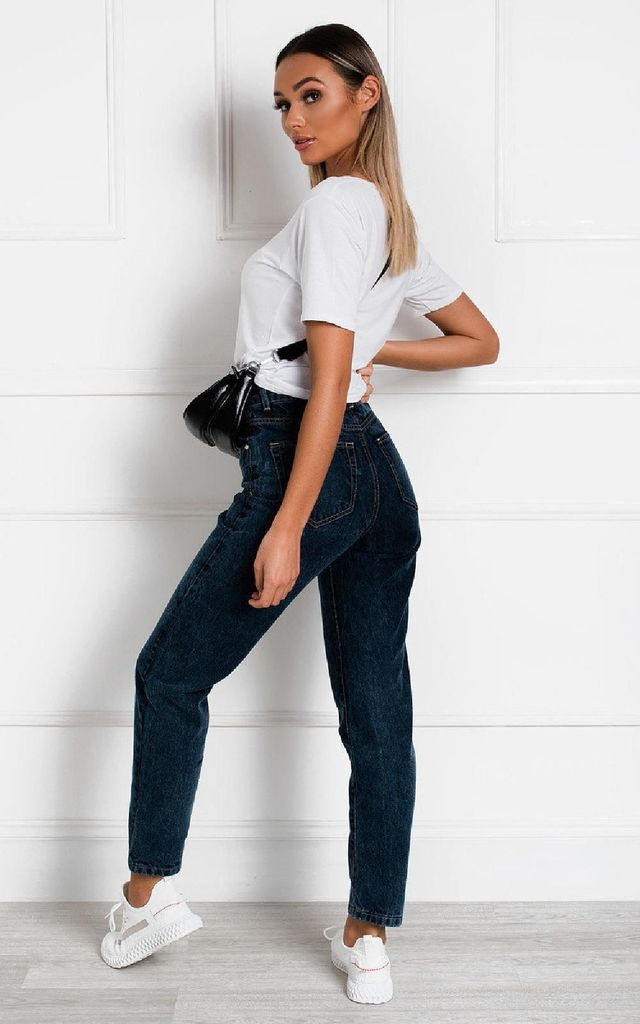 Meg Oversized Slouch Mom Jeans by IKRUSH