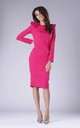 Pink Tailored Dress with Statement Shoulders by By Ooh La La