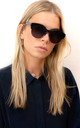 Mayfair - Classic Cat-eye Sunglasses in black by SIENNA ALEXANDER LONDON