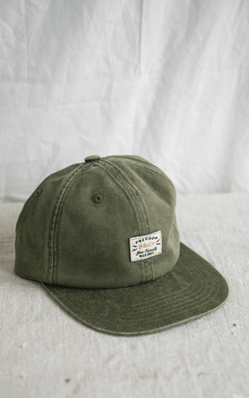 Freedom 6 Panel Cap In Olive Green by P&Co Product photo
