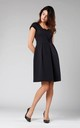 A-Line Sleeveless Dress in Black by By Ooh La La