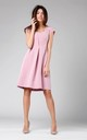 A-Line Sleeveless Dress in Powder Pink by By Ooh La La
