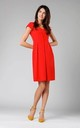 A-Line Sleeveless Dress in Red by By Ooh La La