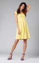 A-Line Sleeveless Dress in Yellow by By Ooh La La