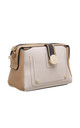 CROSSBODY BAG IN BEIGE/TRIPLE COLOUR by BESSIE LONDON