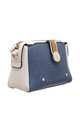 CROSSBODY BAG IN BLUE/TRIPLE COLOUR by BESSIE LONDON