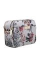 CAMERA BAG IN RED FLORAL PRINT by BESSIE LONDON