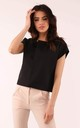 Jacket with Short Sleeve in Black by By Ooh La La