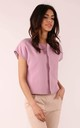 Jacket with Short Sleeve in Pink by By Ooh La La