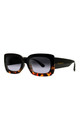 LAURA ABBY SUNGLASSES IN TORTOISESHELL/BLACK by Ruby Rocks Sunglasses