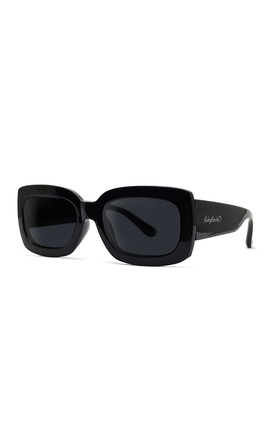 LAURA ABBY SUNGLASSES IN BLACK by Ruby Rocks Sunglasses