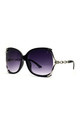 CHERRY OVERSIZED SUNGLASSES IN BLACK by Ruby Rocks Sunglasses