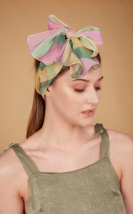 Lola Chiffon Scarf In Patisserie Print by COCOOVE Product photo