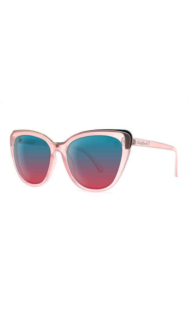 ROSEANNE CATEYE SUNGLASSES IN PINK/GOLD by Ruby Rocks Sunglasses