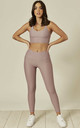 Sports Bra and Legging Sets in Lilac by Emily & Me