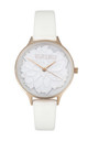 BB LILY BLOSSOM WATCH IN WHITE by Belle & Beau