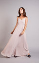 Ibiza Spaghetti Strap Maxi Dress in Oyster Pink by Rewritten