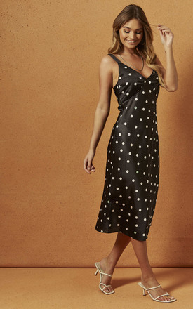 TAY MIDI DRESS IN POLKA DOT by Charlie Holiday