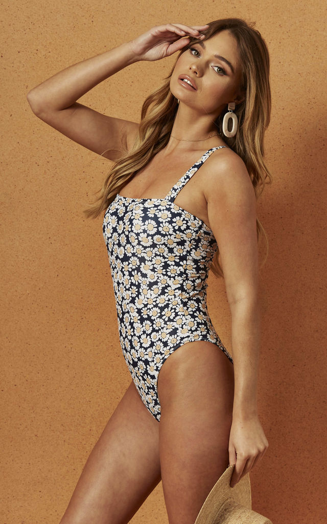 BILLIE SWIMSUIT IN DAISY FLORAL by Charlie Holiday