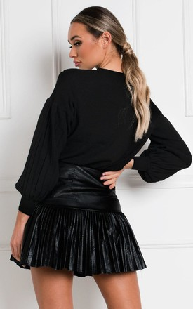 Rebekha Star Embellished Jumper in Black by IKRUSH