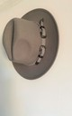 Gina Grey buckle felt fedora hat by Kate Coleman