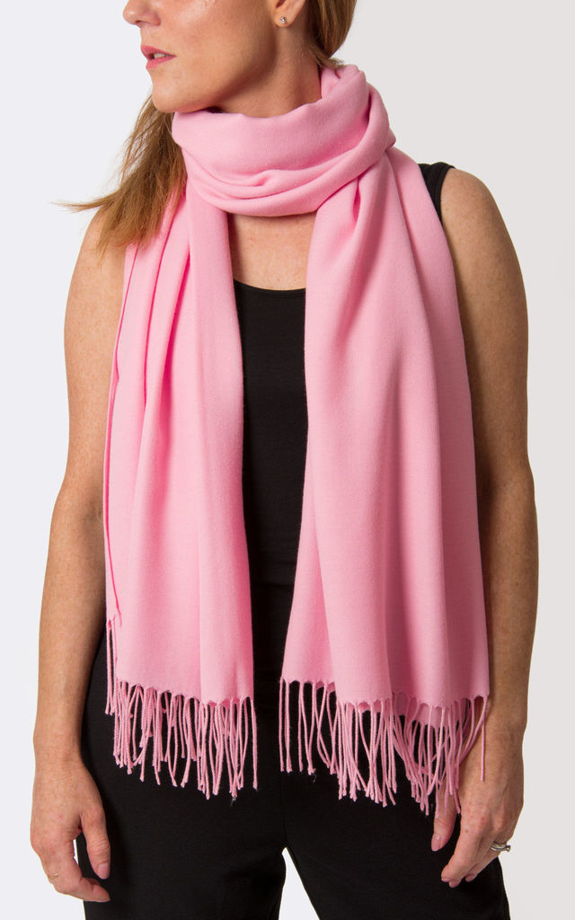 Pink Pashmina by number 37
