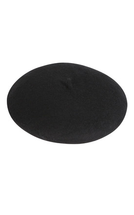 Beret in Black by My Accessories London