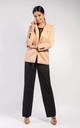 One Button Blazer in Beige by Bergamo