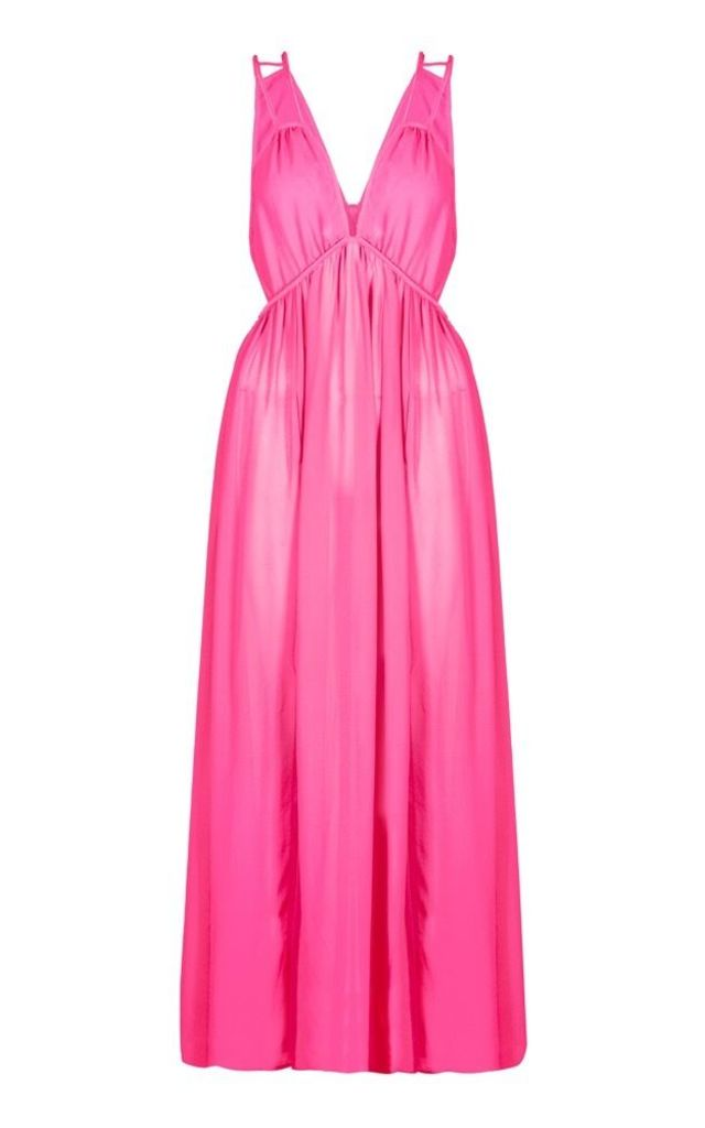 Maxi Beach Dress in Pink by Anastasia Fashions