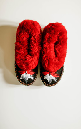 The Ruby Sheepskin Slippers by Sheepers