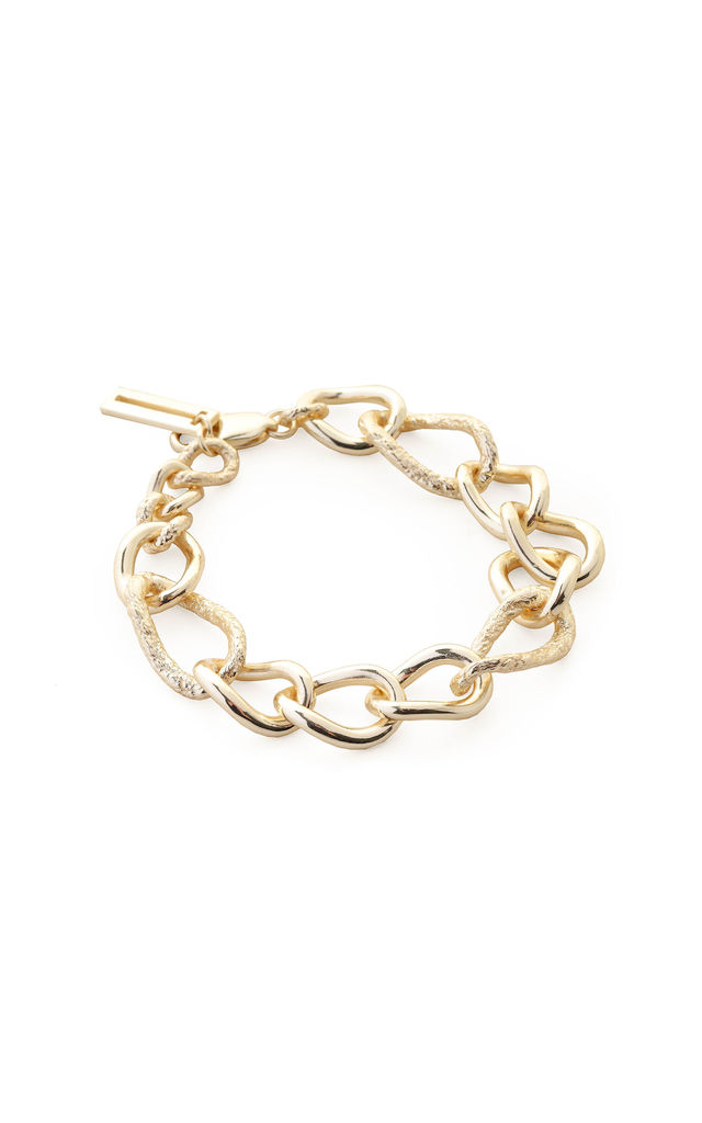 Chunky Gold Chain Bracelet by Tutti & Co