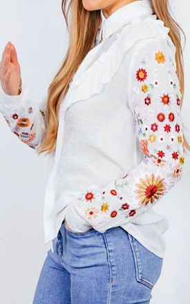 Floral Print Blouse by Styled By Grazia