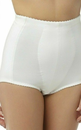 White Medium Control Briefs by BB Lingerie