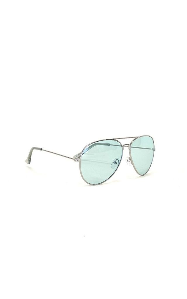 ALVAH Silver Frame Aviator Sunglasses by ShaniceEmily