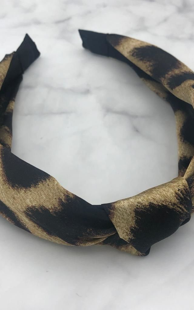 Tilly Headband - Leopard by Olia Jewellery