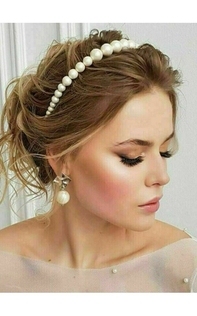 Bridesmaids Faux Pearl Headband by GIGILAND