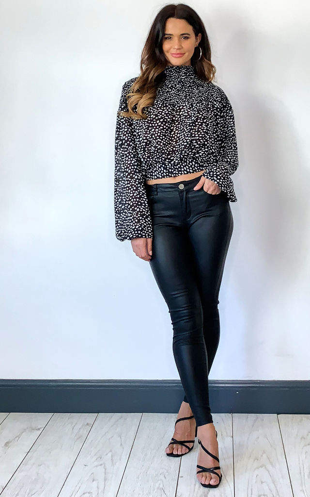 Winter Animal Print Blouse 'Ava' by Storm Label