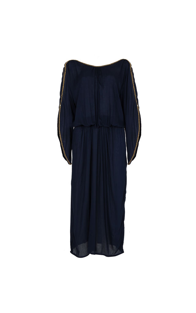 The Aphrodite Maxi - Navy by House of Dharma