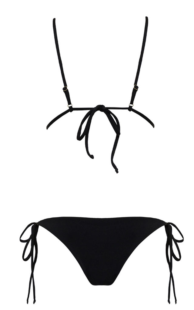 Iris Black Bikini by MELLA Swim