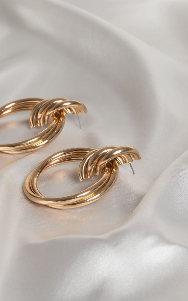 Jules Twisted Hoops by Farrow Low
