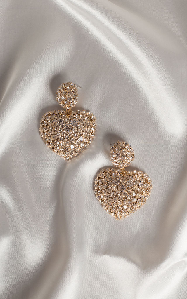 Sienna Heart Earrings by Farrow Low