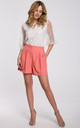 Loose Shorts in Orange by Dursi