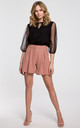 Loose Shorts in Rose by Dursi