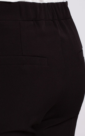 Classic Slim Leg Trousers in Black by Dursi