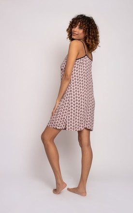 Pretty You London EcoVero Chemise in Pink by Pretty You London