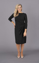 Black dress long sleeves by Perfect Dress Company